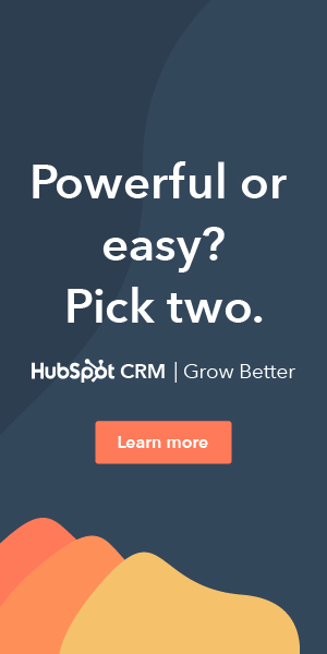 hubspot ad powerful and easy