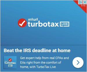 turbotax ad beathe the irs deadline at home