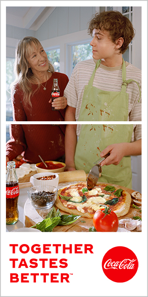 Coca Cola Together Tastes Better Ad Example